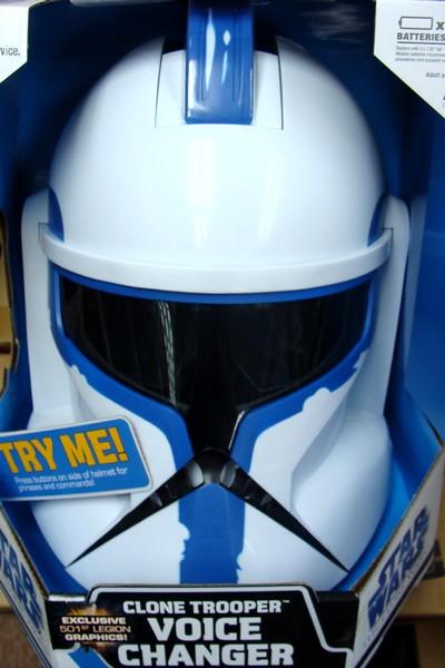 501st legion clonetrooper helmet voice changer