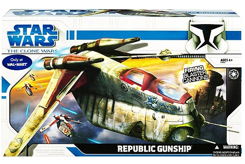 Clone Wars Republic Gunship