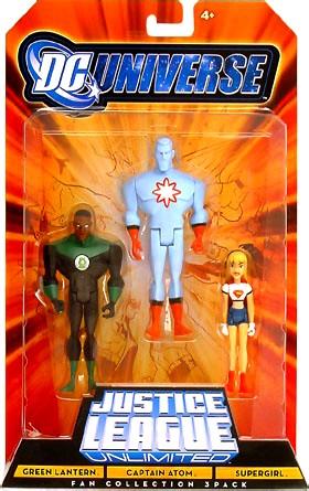 DC Universe JLU 3-Pack