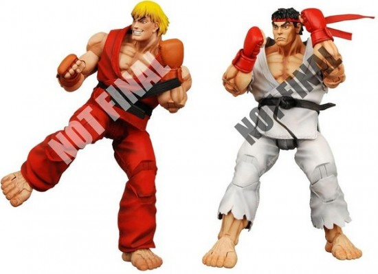 2009 Neca Street Fighter Series
