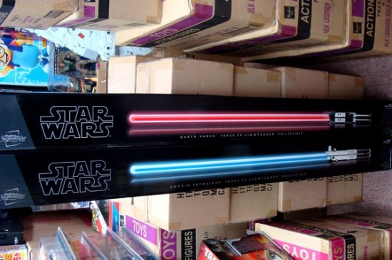 Starwars Lightsaber EP5 Darth Vader and EP3 Anakin