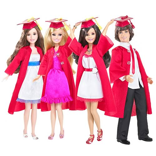 High School Musical 3 Graduation Doll