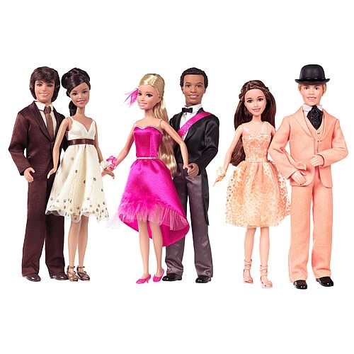 High School Musical 3 Barbie Dolls Prom Dates