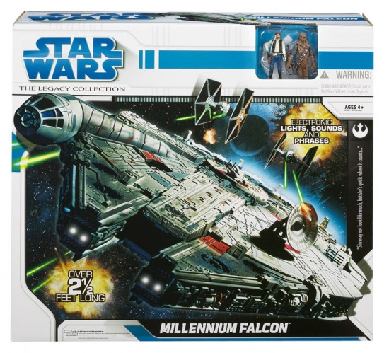 legacy collection millenium falcon