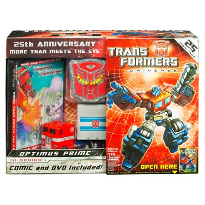 TFU G1 Optimus Prime with DVD